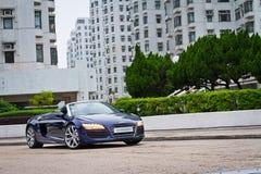 Audi R8 Spyder 2013 Model Royalty Free Stock Photos