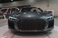 Audi R8 R8 Spyder på skärm Royaltyfri Bild
