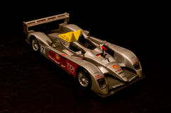 Audi R10 TDI dör ensemblemodellen Arkivfoto