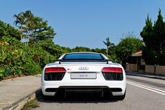 Audi R8 2016 Test Drive Day Stock Photos