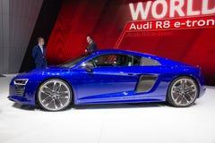 2015 Audi R8 Tron sportów samochód Obrazy Stock