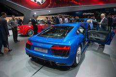 Audi R8 v10 Royalty-vrije Stock Afbeelding