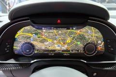 Audi R8 V10 mais o painel imagem de stock