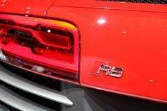 2013 Audi R8 V10 Stock Photo