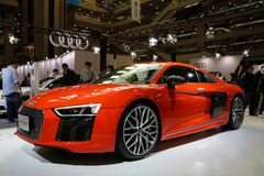 Audi R8 V10 plus zdjęcia stock