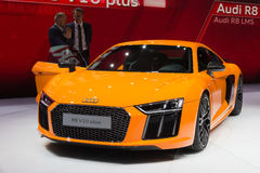Audi R8 V10 plus Royalty-vrije Stock Foto