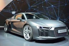 Audi R8 V10 plus bilen Royaltyfria Bilder