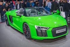 Audi R8 V10 plus Stock Photography