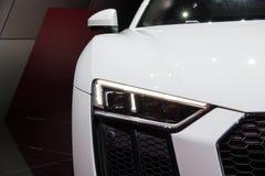 Audi R8 V10 RWS sportbil Royaltyfri Fotografi