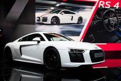 Audi R8 V10 RWS sportbil Royaltyfri Foto