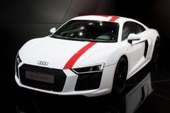 Audi R8 V10 RWS sportbil Royaltyfri Bild