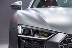 Audi R8 V10 sports car Royalty Free Stock Photos