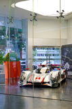 Audi R18 e-tron quattro Le Mans racing car on display Royalty Free Stock Image