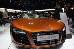 Audi R8 5.2 Stockbild