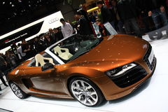 Audi R8 5.2 Stock Photography