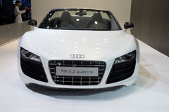 Audi r8 5.2 quattro carg Royalty Free Stock Photo
