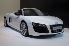 Audi r8 5.2 quattro carg Stock Photos