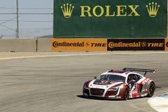 Audi R8 alle grandi corse di Rolex Fotografia Stock