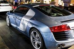Audi R8 - Arrière - M/H Photos stock