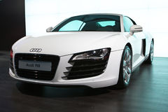 Audi R8 At Moscow Exhibition Motorshow 2008 Stock Image
