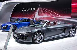 Audi R8 cabrio Royalty Free Stock Photo