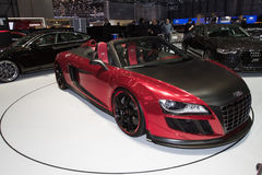 Audi R8 Cabrio ABT GTS - Geneva Motor Show 2011 Royalty Free Stock Images