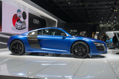Audi R8 Coupe - world premiere Stock Photography