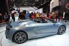 Audi R8 CT Spyder Royalty Free Stock Photo