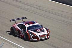 Audi R8 em raças grandes do AM Rolex fotografia de stock royalty free