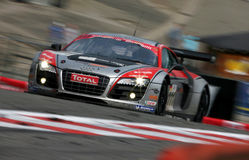 Audi R8(FIA GT=Spa24h) Stock Images