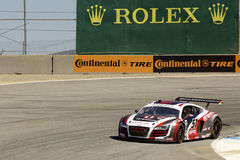 Audi R8 at Grand AM Rolex Races Stock Photo