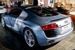 Audi R8 - Hintere Ansicht Lizenzfreies Stockbild