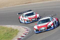 Audi R8 LMS Royalty Free Stock Photos