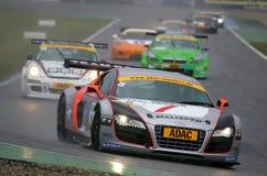 Audi R8 LMS (de Meesters van ADAC GT) Stock Foto