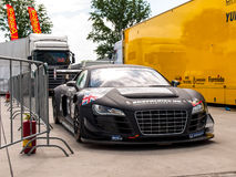 Audi R8 race car Royalty Free Stock Photo