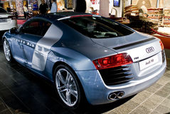 Audi R8 - Retrovisione Immagine Stock Libera da Diritti