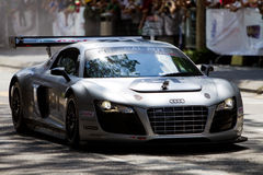 Audi R8 showcase in conjunction with F1 demo Royalty Free Stock Photography