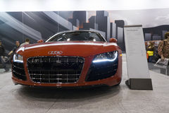 Audi R8 Spyder Stock Photo
