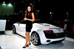 Audi R8 Spyder Royalty-vrije Stock Foto's