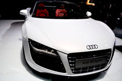 Audi R8 Spyder Royalty-vrije Stock Afbeeldingen