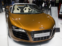 Audi R8 Spyder Quattro Royalty Free Stock Image