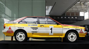 Audi Rallye Quattro A2 Stock Photos