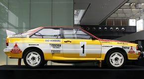 Audi Rallye Quattro A2. Audi A2 Quattro Rallye At Audi Motorsports Legend Exhibition in Singapore Stock Photos