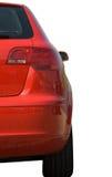 Audi rosso isolato su priorità bassa bianca Immagini Stock