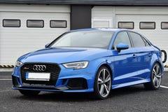 Audi RS3 stock afbeelding