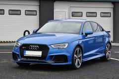 Audi RS3 stock foto