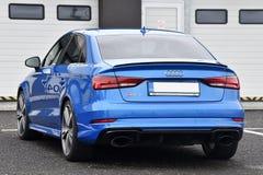 Audi RS3 imagem de stock