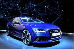 Audi RS7 stockfotografie