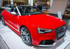 Audi RS 5 Cabriolet Royalty Free Stock Photos