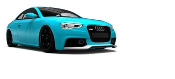 Audi rs 5 Fotografia Royalty Free